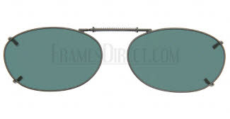 Cocoons Sunglasses - Cocoons Clip On Clip-Ons Oval 4 Clip-On