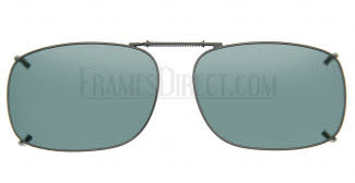 Cocoons Sunglasses - Cocoons Clip On Clip-Ons Square 2 Clip-On