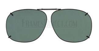 Cocoons Sunglasses - Cocoons Clip On Clip-Ons Square 3 Clip-On