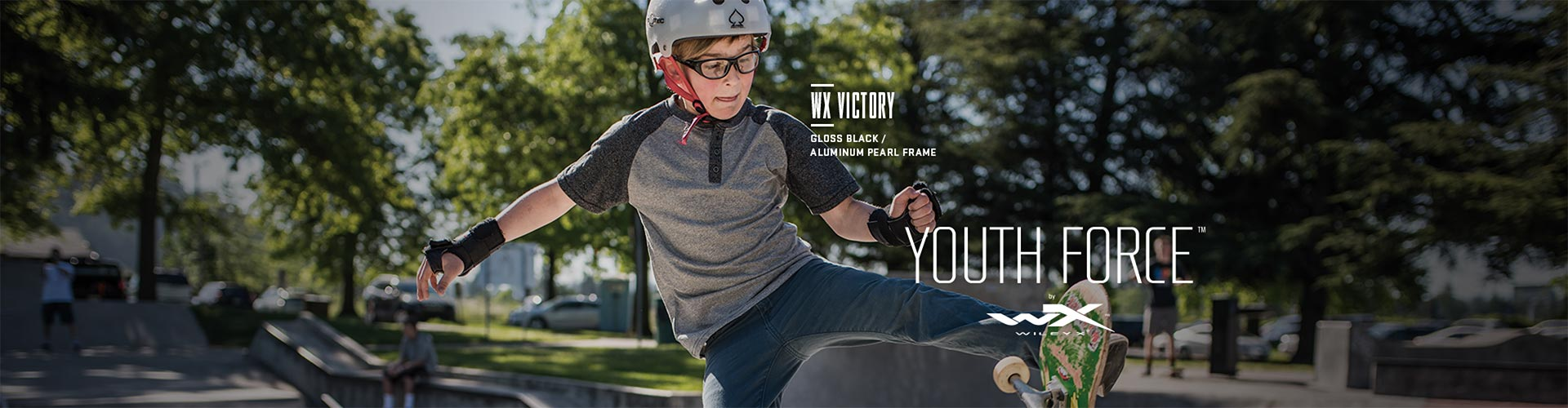 Shop Wiley X Youth Force Prescription Sunglasses - model WX Victory featured