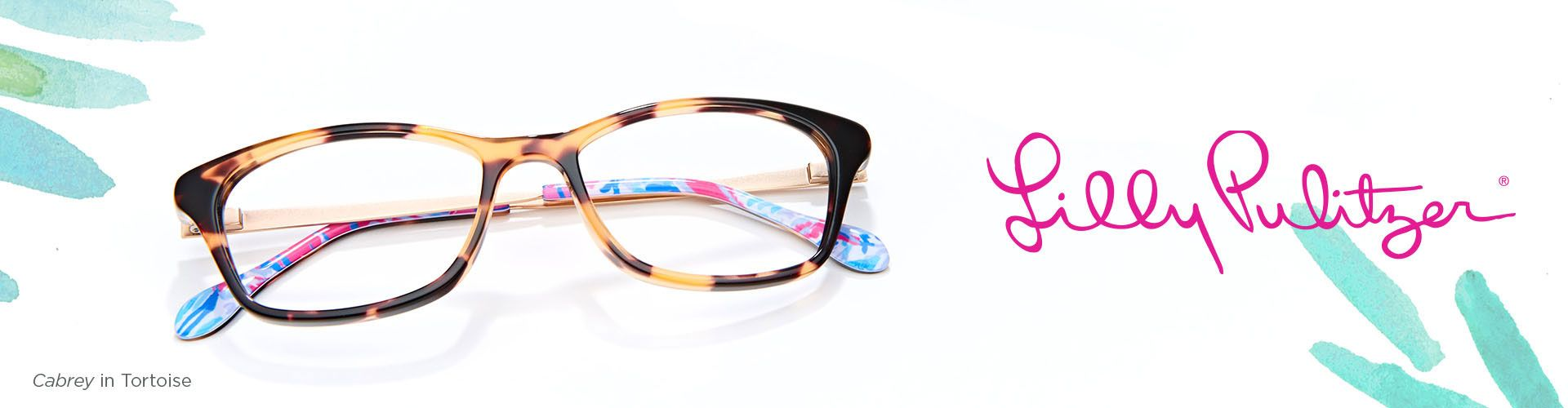 Shop Lilly Pulitzer Eyeglasses - model Cabrey featured