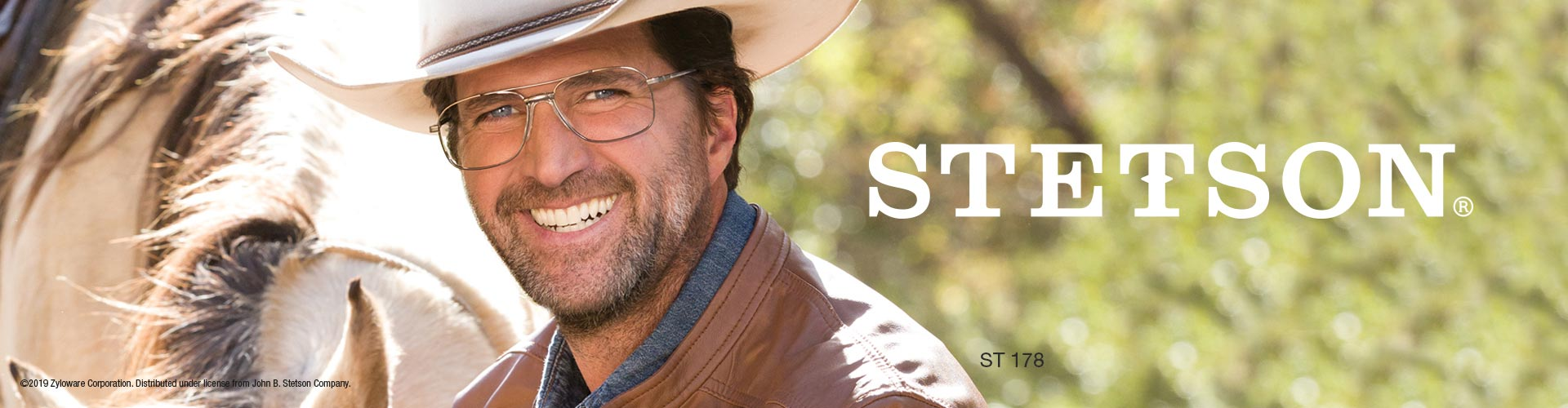 Shop Stetson Eyeglasses - model Stetson 178 featured
