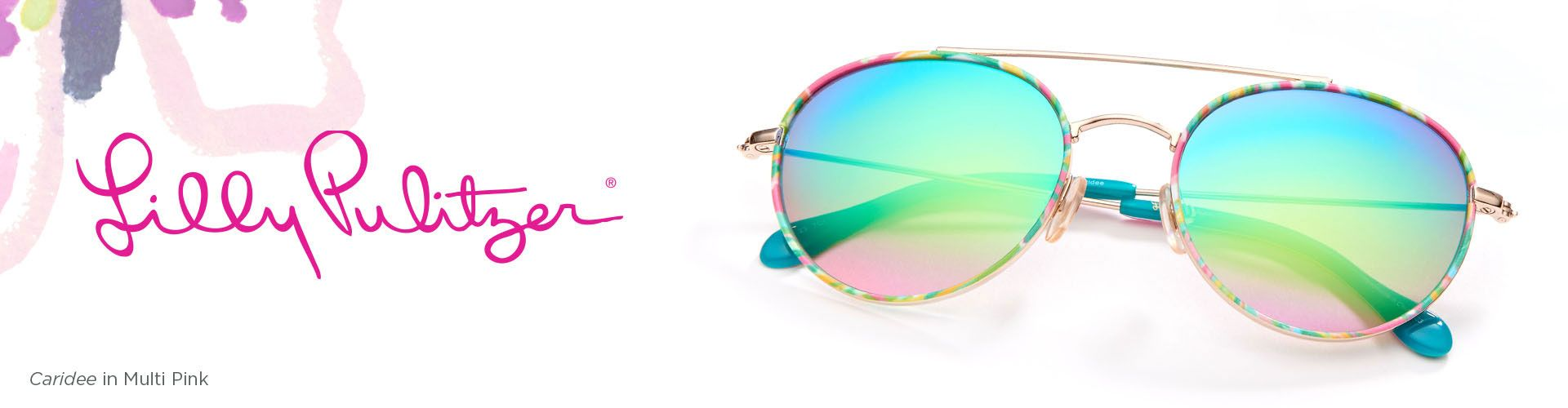 Shop Lilly Pulitzer Sunglasses - model Caridee featured