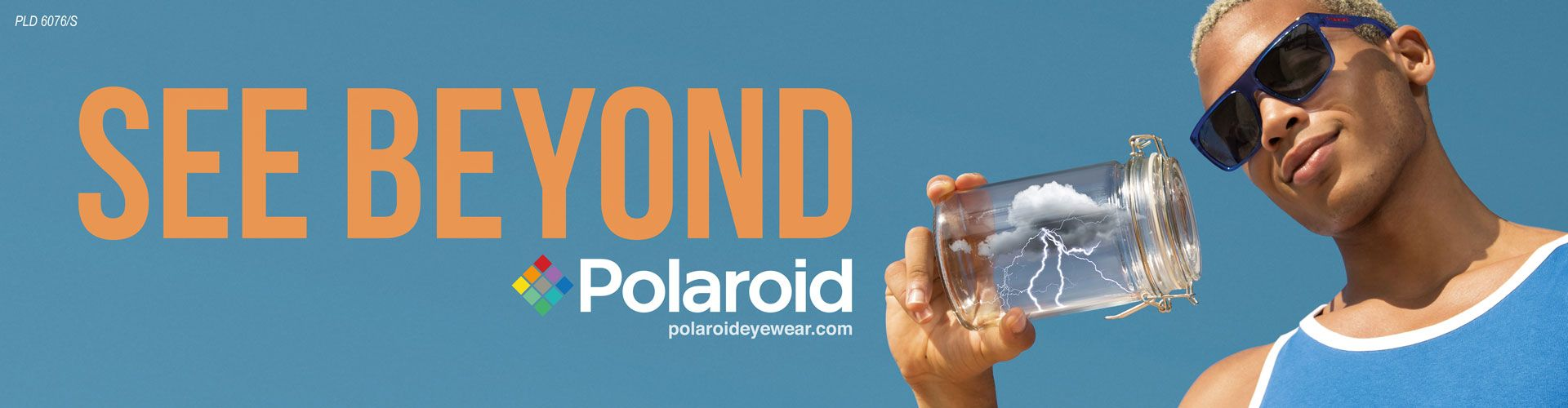 Shop Polaroid Sunglasses - model Pld 6076/S featured