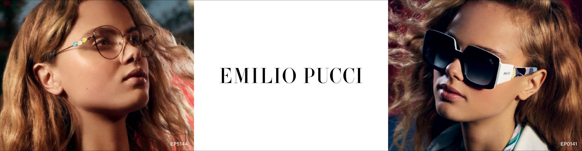 Shop Emilio Pucci Eyeglasses - featuring EP5144 and EP0141