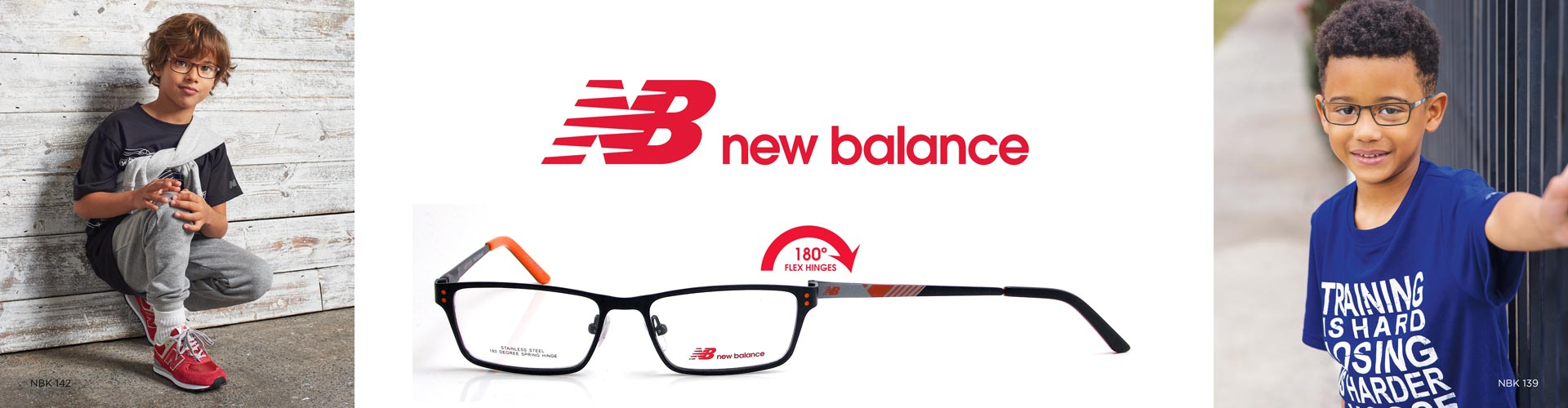 Shop New Balance Kids Eyeglasses - featuring NBK 139