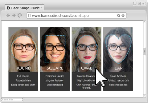 eyewear face shape guide
