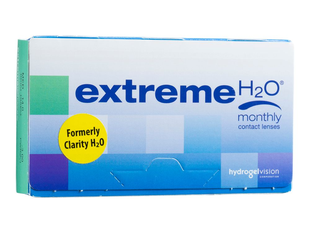 Extreme H2O 59% Xtra 6 Pack Contact Lenses