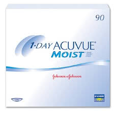 Acuvue 1 Day Moist - 90 Pack Contact Lenses