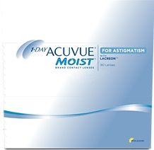 Acuvue 1 Day Moist for Astigmatism - 90 Pack Contact Lenses