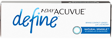 1-Day Acuvue Define in Natural Sparkle - 30 pack Contact Lenses