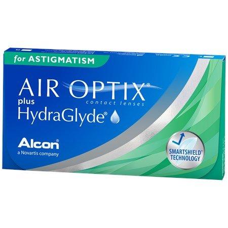 Air Optix Hydraglyde for Astigmatism 6 pack Contact Lenses