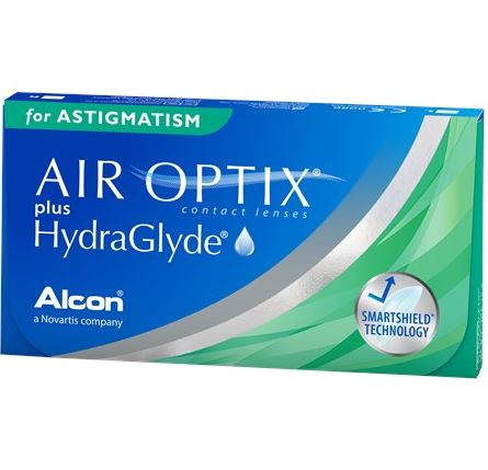 Air Optix Hydraglyde for Astigmatism 6 pack Contact Lenses