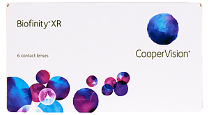Biofinity XR 6 Pack Contact Lenses