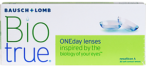 BioTrue One Day - 30 Pack Contact Lenses