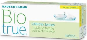 BioTrue One Day for Presbyopia - 30 Pack Contact Lenses