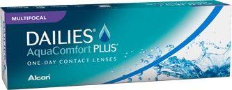 Dailies AquaComfort Plus Multi-Focal 30 Pack Contact Lenses