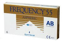 Frequency 55 Aspheric 6 PK Contact Lenses