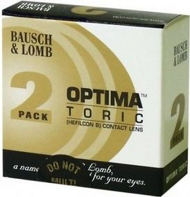 Optima Toric - 2 Pack Contact Lenses
