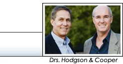 FramesDirect.com founders Dr. Guy Hodgson and Dr. Dhavid Cooper
