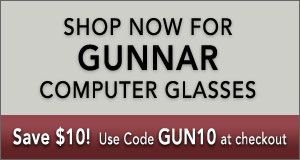 Shop Now for Gunnar Eyeglasses