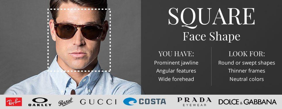 Best Glasses Frame Shape For Square Face : Square Faces Online Glasses Guide: The Best Frames for ...