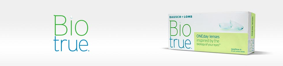 BioTrue Brand Contact Lenses