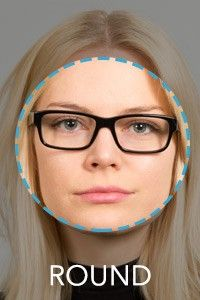 Cute Womens Eyeglass Frames For Round Faces : Face Shape Guide: How to Choose the Best Glasses for Your Face