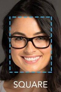 Best Glasses Frame Shape For Square Face : Face Shape Guide: How to Choose the Best Glasses for Your Face