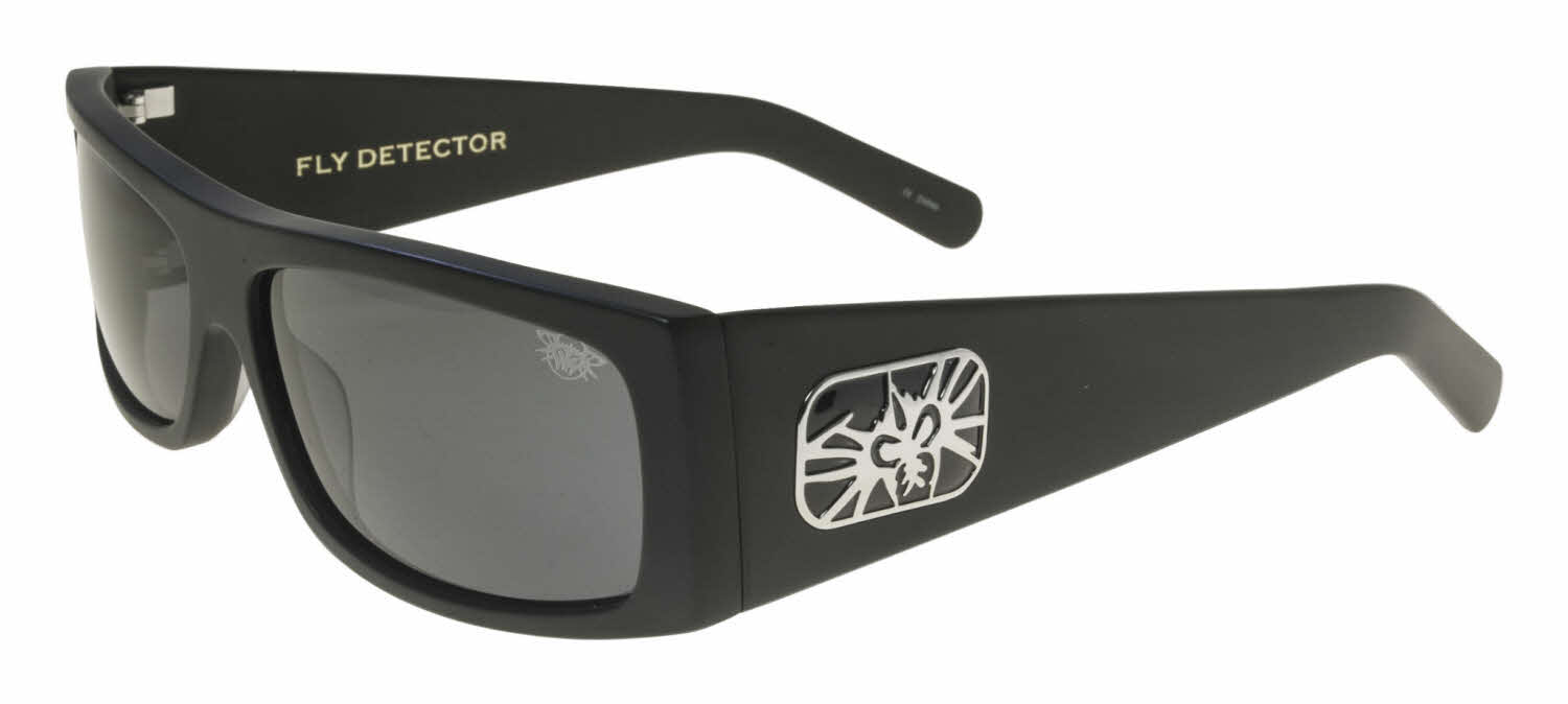 Black Flys Fly Detector Sunglasses Free Shipping