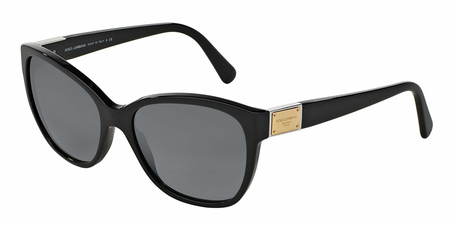 Dolce & Gabbana DG4195 - Logo Plaque Prescription Sunglasses