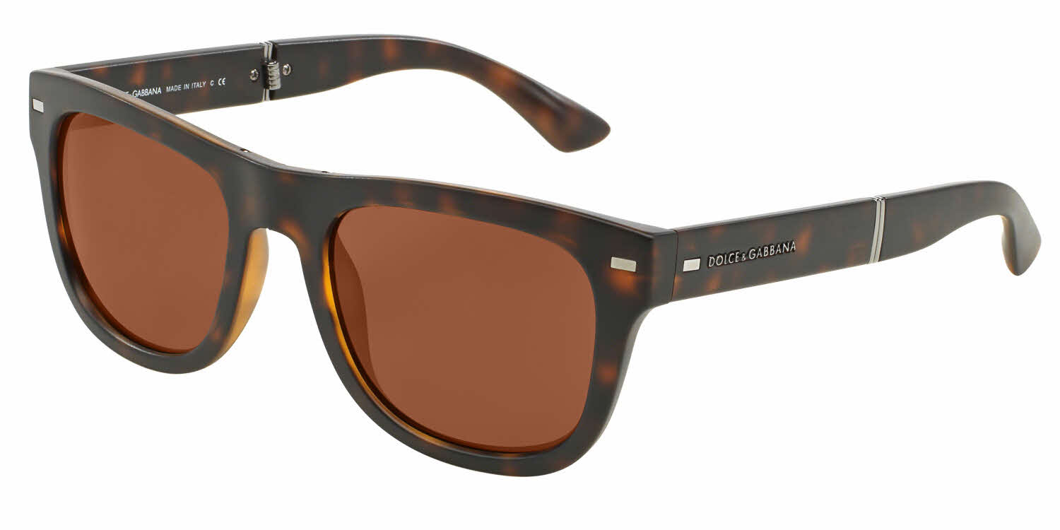Dolce & Gabbana DG6089 - Folding Prescription Sunglasses