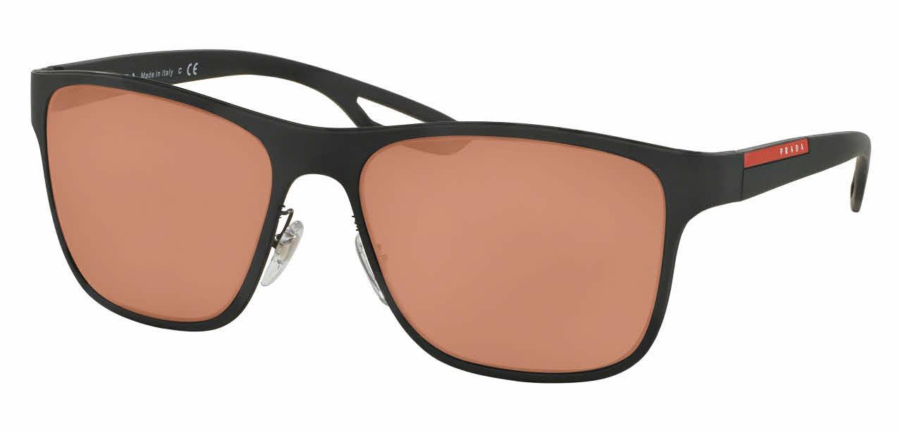 Prada Linea Rossa PS 56QS - LJ Silver Prescription Sunglasses
