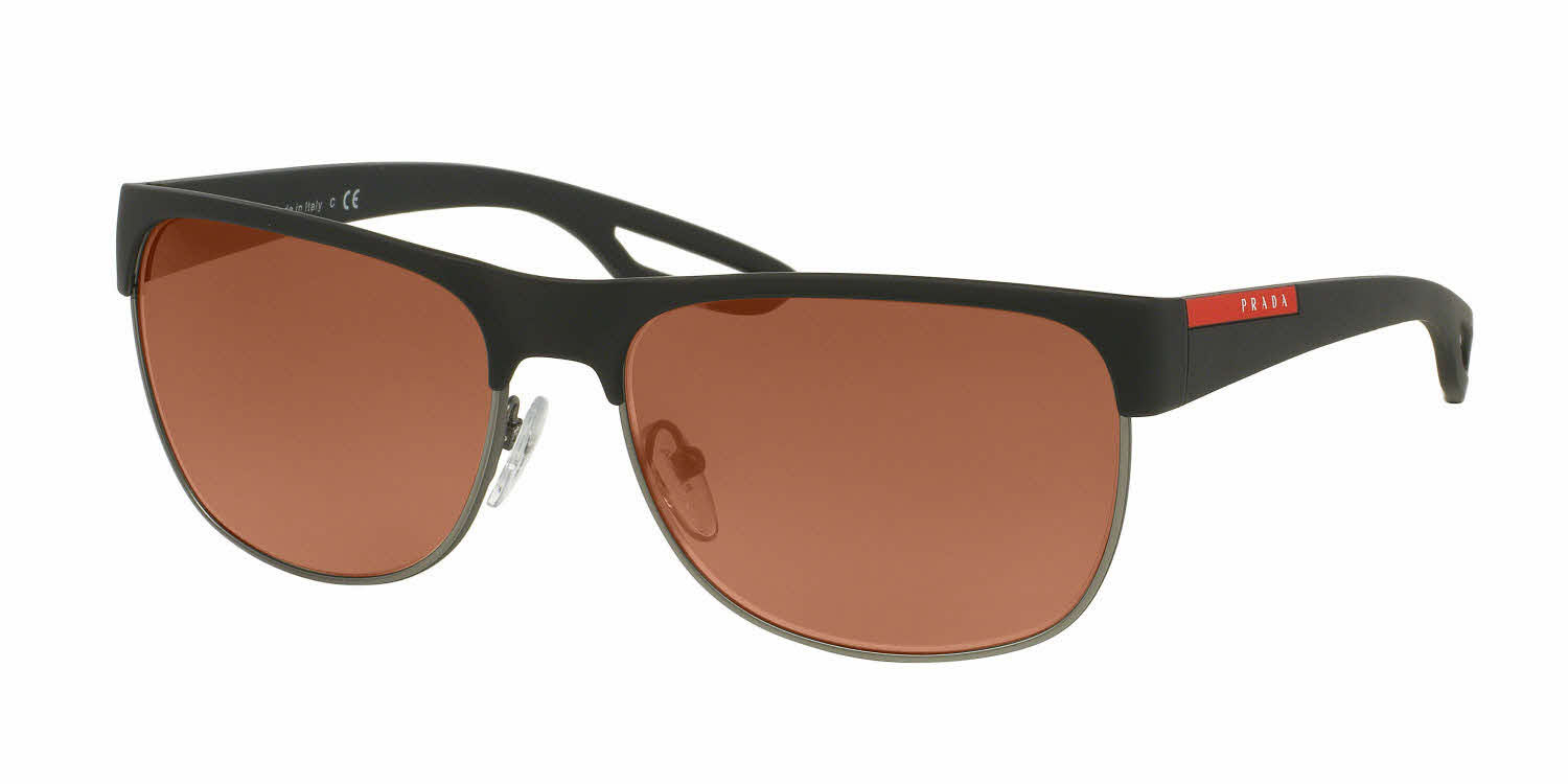 Prada Linea Rossa PS 57QS - LJ Silver Prescription Sunglasses