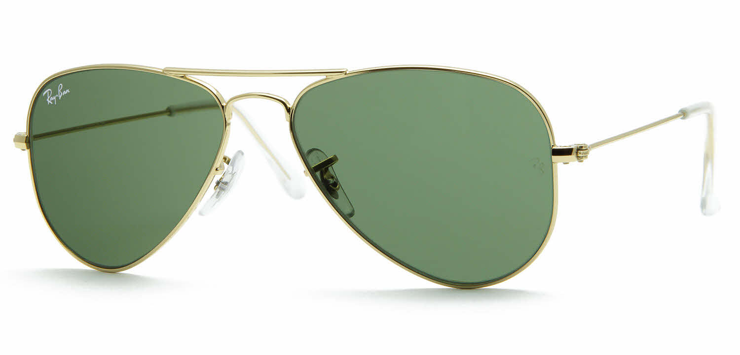 Ray-Ban RB3044 - Small Metal Aviator Sunglasses