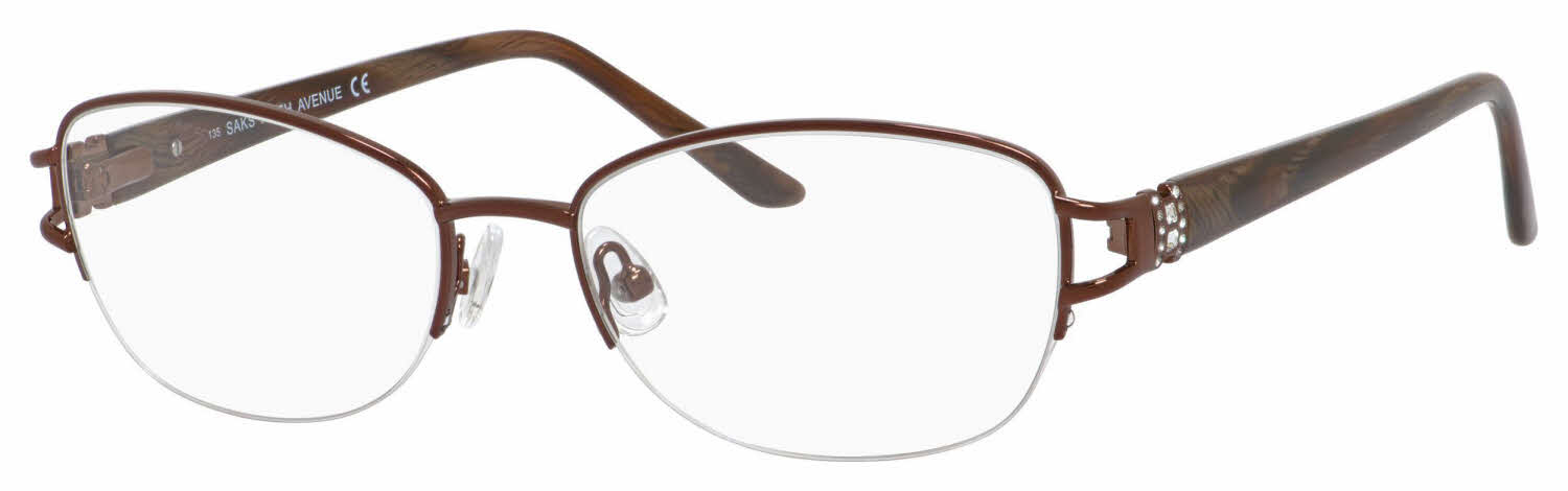 Saks Fifth Avenue Saks F.ave 296 Eyeglasses | Free Shipping