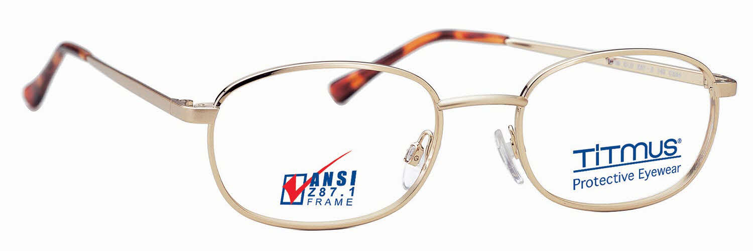 Titmus FC 709 with Side Shields Eyeglasses | Free Shipping