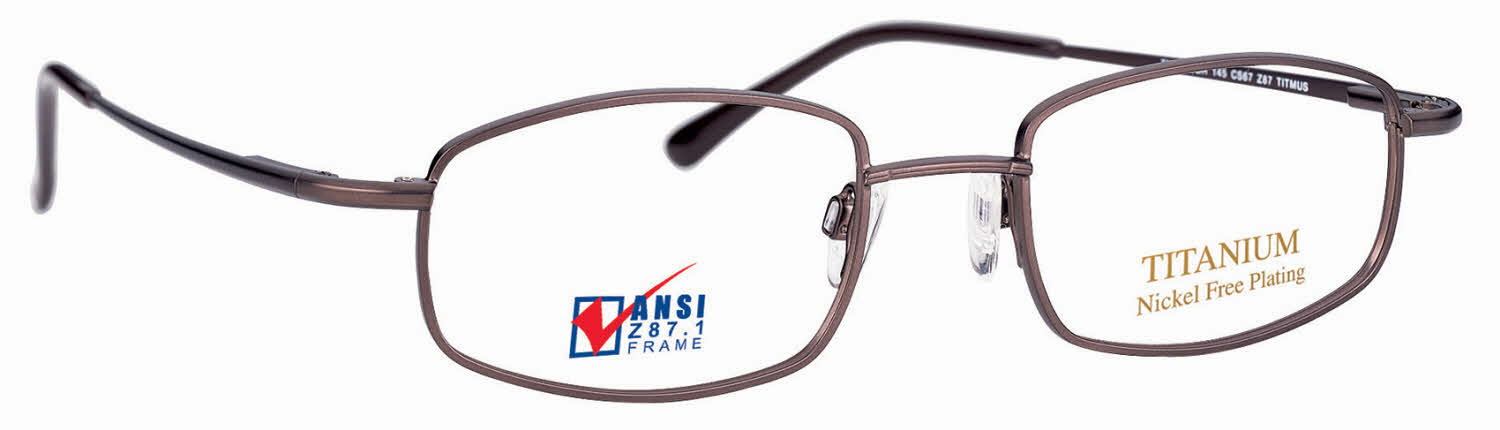 5803d75d305 Titmus EXT 9 with Side Shields Titanium Collection Eyeglasses