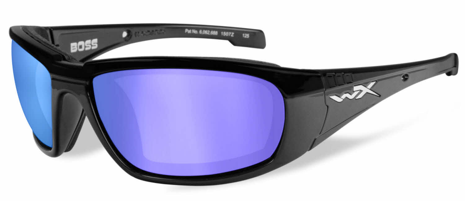 e1d48aa16145 Wiley X WX Boss Prescription Sunglasses | Free Shipping