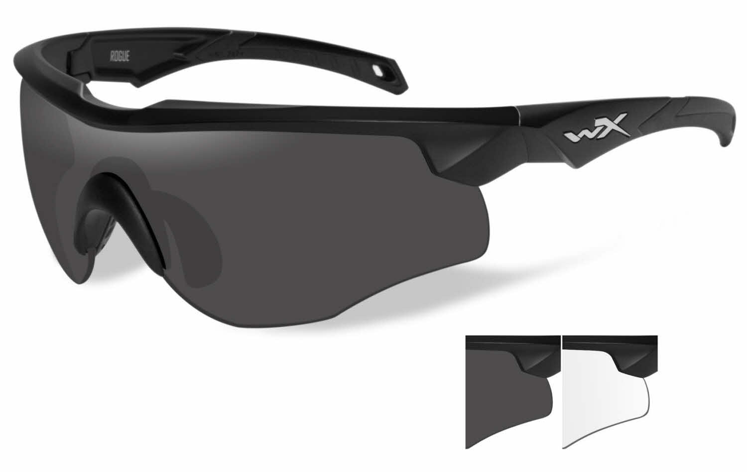 2810b1c9473 Wiley X WX Rogue Prescription Sunglasses
