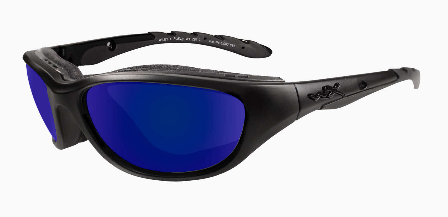 Wiley X Airrage Motorcycle Sunglasses Louisiana Bucket