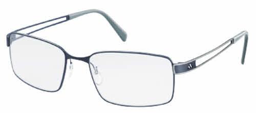 Adidas AF07 Base-X Full Rim Performance Steel Eyeglasses