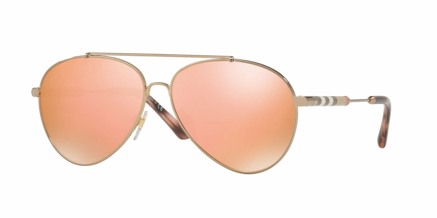 Burberry BE3092QF - Alternate Fit Sunglasses
