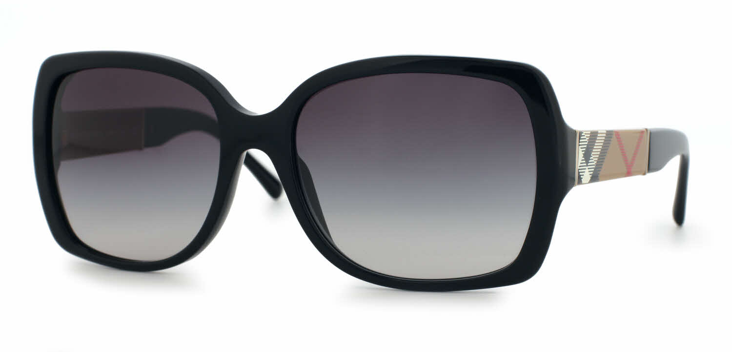 black burberry glasses