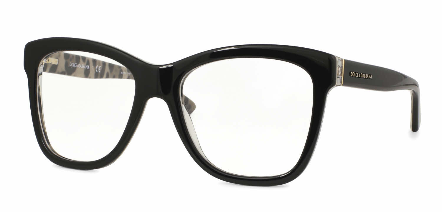 Dolce & Gabbana DG3212 - Enchanted Beauties Animalier Eyeglasses