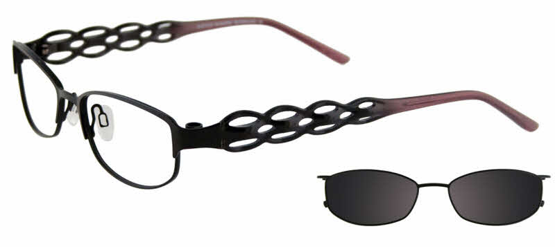 Easyclip EC227-With Magnetic Clip on Lens Eyeglasses