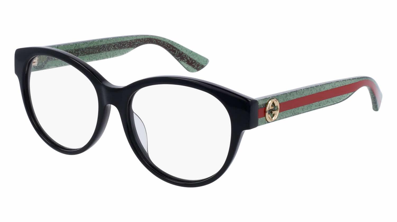 Gucci Eyeglasses Frames Direct : Gucci GG0039OA - Alternate Fit Eyeglasses Free Shipping