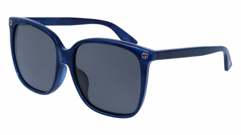 Gucci GG0022SA - Alternate Fit Prescription Sunglasses