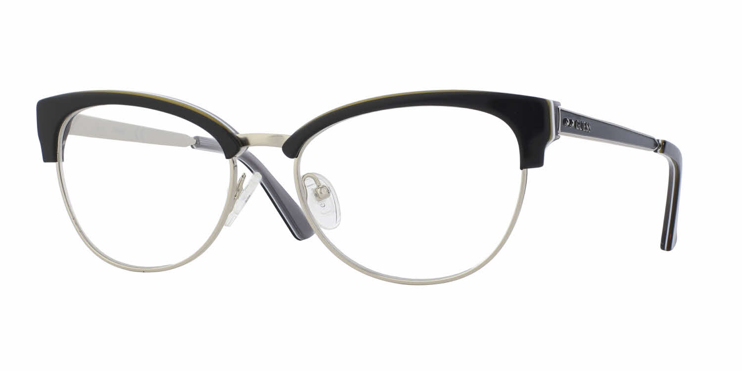 bc6a48dd42 ... Tortoiseshell on Cream GU2291 S87 52. Guess GU2552 Eyeglasses