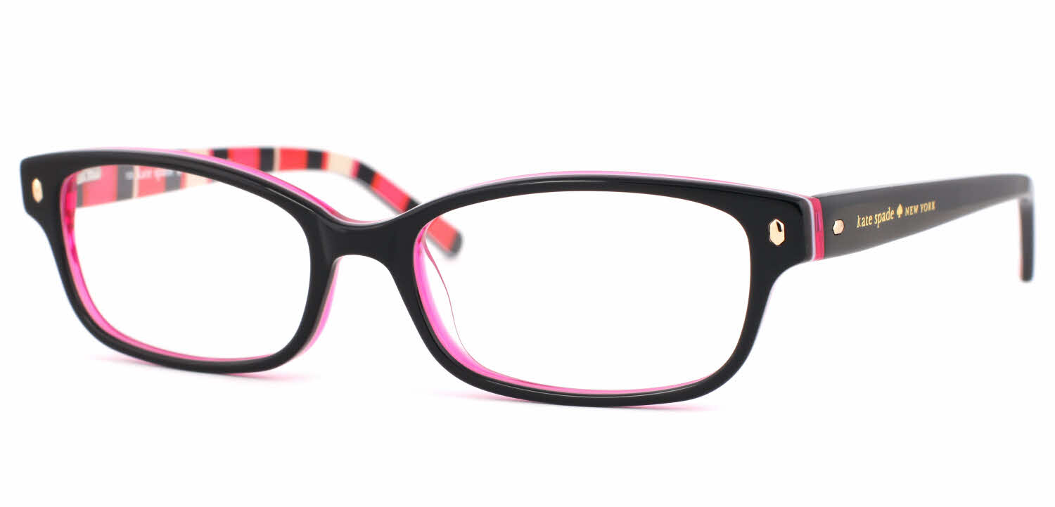 Eyeglass Frames And Lenses : Kate Spade Lucyann Eyeglasses Free Shipping